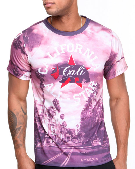 Buyers Picks - Men Multi Cali All-Star Sublimation Tee