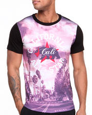 T-Shirts - Cali All Star tonal Sleeve Sublimation Tee