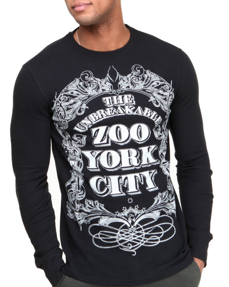 Zoo York - Men Black Zoo York City L/S Thermal