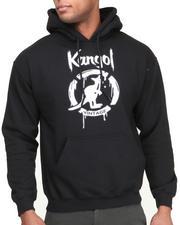 Men - Kangol Drip Script Hoodie