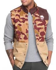 Heritage America - Wild Buck Camo Twill Vest