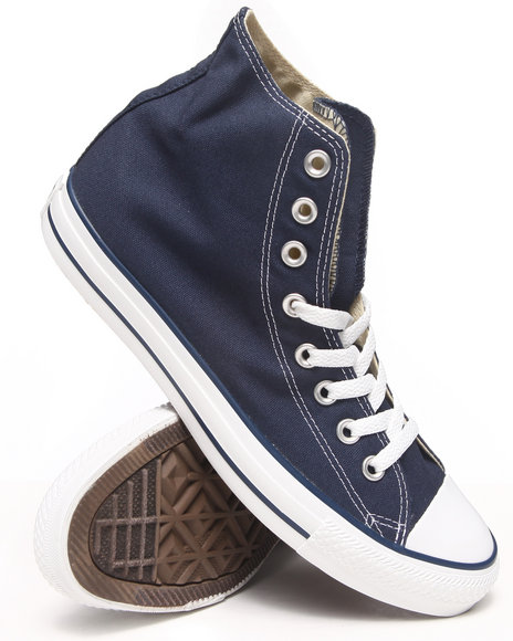 Converse - Men Navy Chuck Taylor All Star Core Sneakers