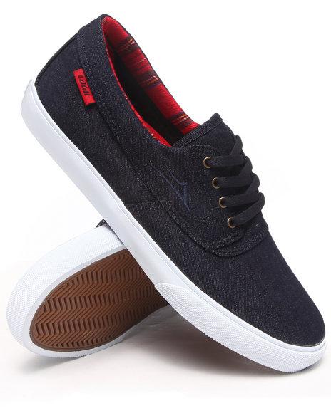 Lakai Indigo Camby Indigo Denim Sneakers
