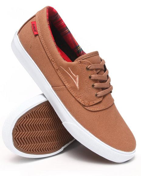 Lakai - Men Light Brown Camby Caramel Canvas Sneakers