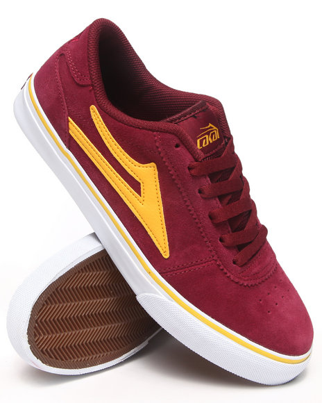 Lakai Maroon Manchester Port Suede Sneakers
