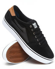 The Skate Shop - Manchester Lean Black Suede Sneakers