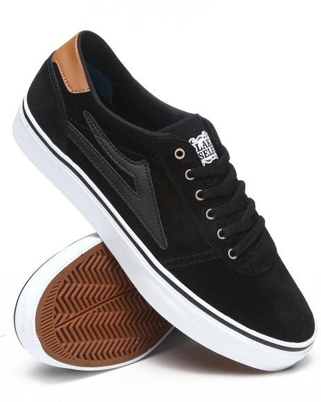 Lakai Black Manchester Lean Black Suede Sneakers
