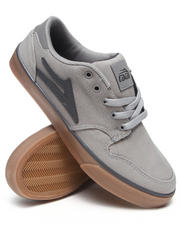 Lakai - Carroll 5 Grey/Gum Canvas Sneakers