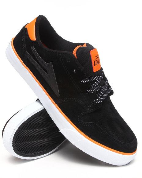 Lakai Black Carroll 5 Black Suede Sneakers