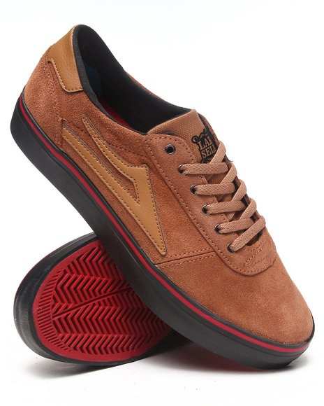 Lakai Brown Manchester Lean Tobacco Suede Sneakers