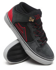 Lakai - Carroll Select Black/Grey Suede Sneakers