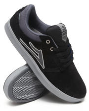 Lakai - Linden Black/Grey Suede Sneakers