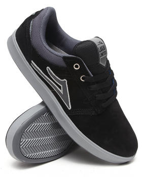 Lakai - Linden Black/Grey Suede Sneakers