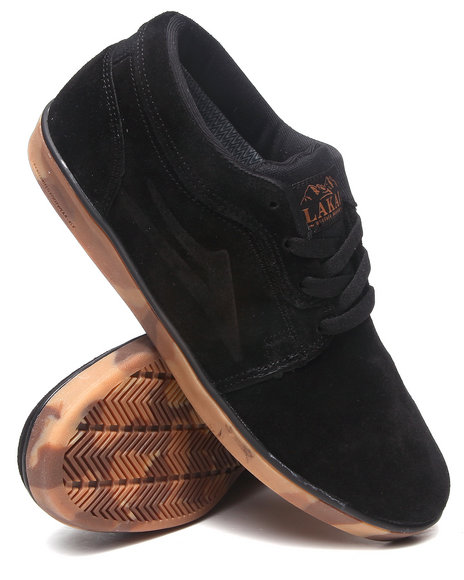 Lakai Black,Camo Howard Desert Black Camo Suede Boots