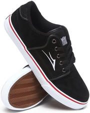 The Skate Shop - Brea Black Tie-Dye Suede Sneakers