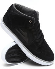 The Skate Shop - Telford Echelon Black Suede Sneakers