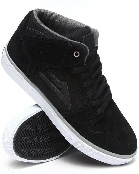 Lakai Black Telford Echelon Black Suede Sneakers