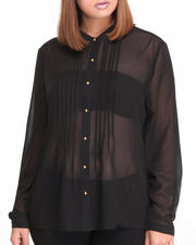 Fashion Lab - Carla Basic Button Down Shirt