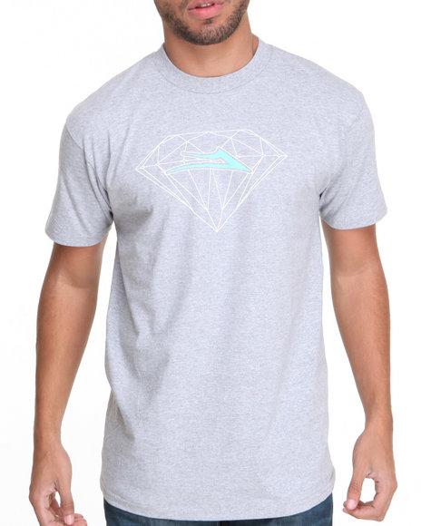 Lakai Grey Lakai X Diamond Supply Co Tee