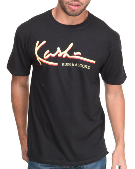 Community 54 Presents Black Kush & Alcohol S/S Tee