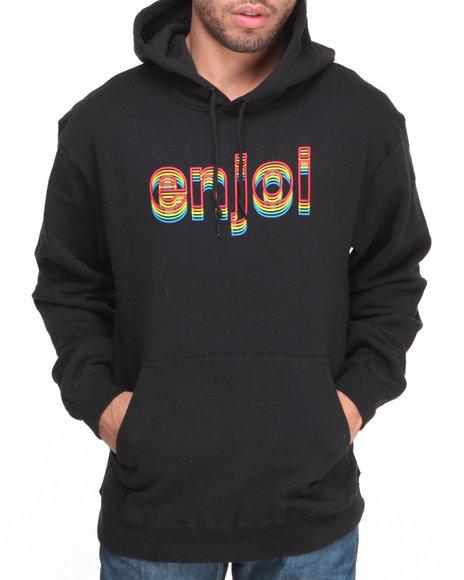 Enjoi Black Outlines Pullover Hoodie