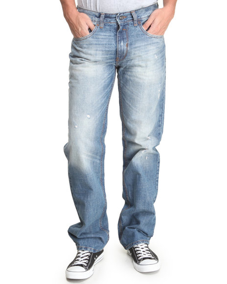 Rocawear - Men Light Wash Arctic Classic Fit Jeans