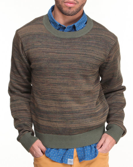 Jachs - Men Green Lothario Crew Sweater - $34.99