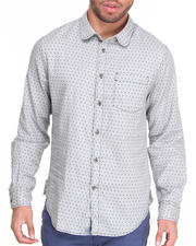 Shirts - Enrico L/S Polka Dot Button-Down