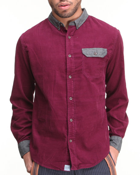 Jachs Red Button-Downs
