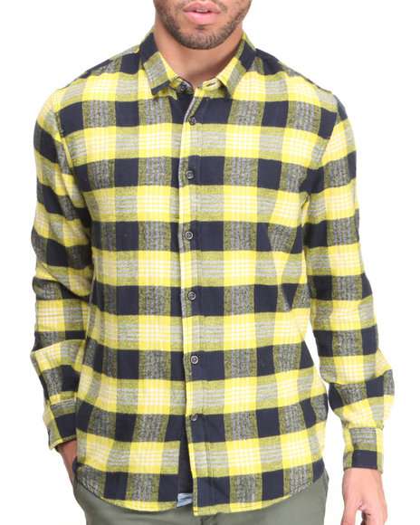 Jachs - Men Navy Amando L/S Button-Down