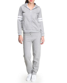 Basic Essentials - 6th Ave Fleece Set w/Hoodie and pants