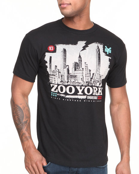 Zoo York - Men Black Campaign Tee