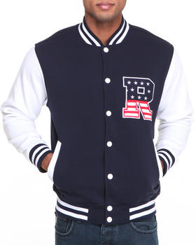Buyers Picks - T H C Flag - R Fleece Varsity Jacket