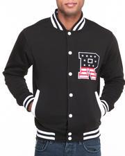Buyers Picks - T H C Flag - R Fleece Varsity Jacket