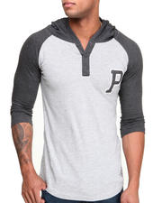 Buyers Picks - Team P Hooded Raglan Henley