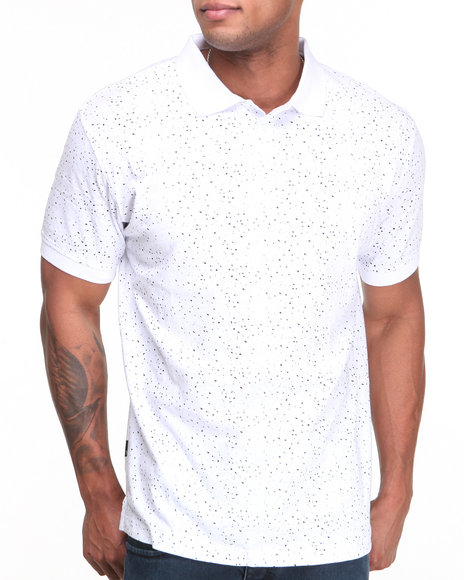 Sneaktip White Sneaktip Speckle S/S Polo