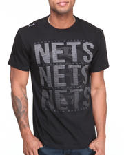 NBA, MLB, NFL Gear - Brooklyn Nets Pinpoint Tee