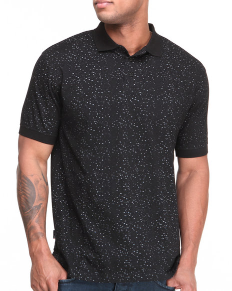 Sneaktip Black Sneaktip Speckle S/S Polo