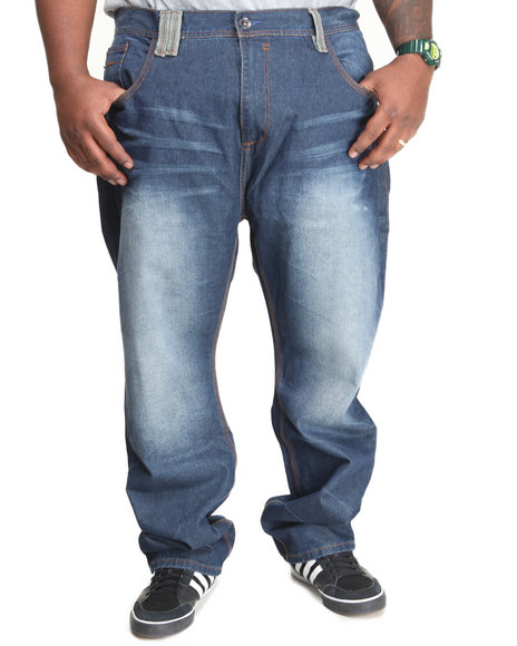 COOGI Dark Wash Coogi Legacy Denim Jeans (Big & Tall)