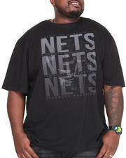 Men - Brooklyn Nets Pinpoint Tee (B&T)