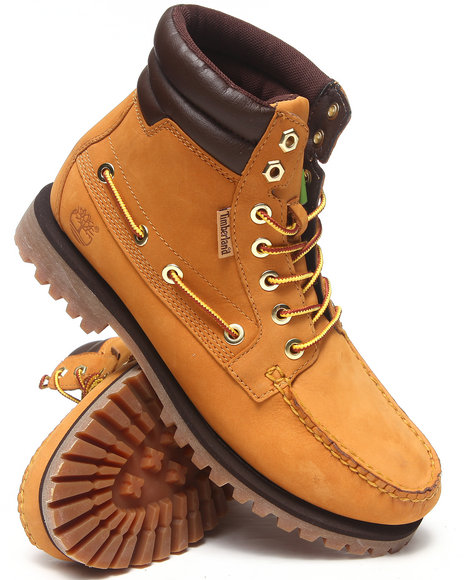 Timberland - Men Wheat Oakwell 7 Eye Moc Toe Boots