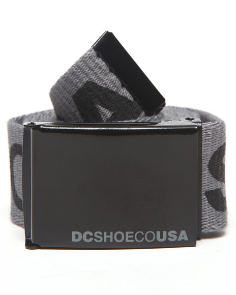 Dc Shoes Chinook 5 Belt Grey