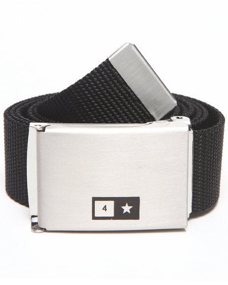 Fourstar Bar Scout Belt Black