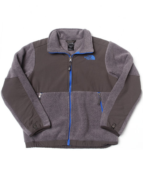 The North Face - Boys Grey Denali Jacket (5-20)