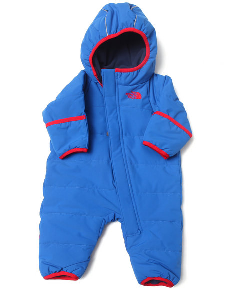 The North Face Boys Blue Toasty Toes Bunting (Infant)