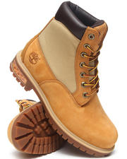 Men - New Market Scuffproof II Leather and Fabric Boots