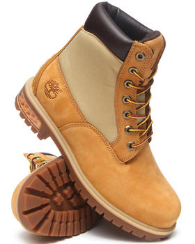 Timberland - New Market Scuffproof II Leather and Fabric Boots