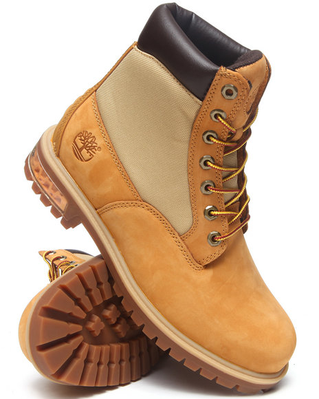 Timberland - Men Wheat New Market Scuffproof Ii Leather And Fabric Boots