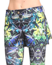 Greedilous - Green Prism Shorts