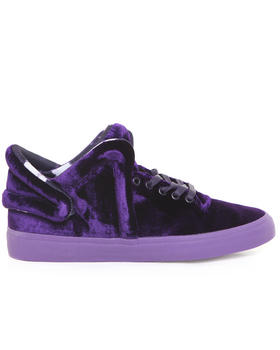 Supra - Falcon Purple Velvet Sneakers